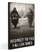 RESPECT TO THE FALLEN ONES  20x30 Gallery Wrapped Canvas Prints front