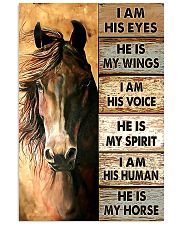 HE IS MY HORSE 11x17 Poster thumbnail