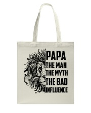 THE MAN THE MYTH THE BAD INFLUENCE - MB118 Tote Bag tile
