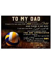 TO MY DAD - MB299 36x24 Poster front
