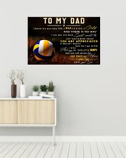 TO MY DAD - MB299 36x24 Poster poster-landscape-36x24-lifestyle-01