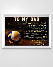 TO MY DAD - MB299 36x24 Poster poster-landscape-36x24-lifestyle-02