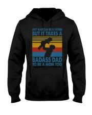 BADASS DAD - MB258 Hooded Sweatshirt thumbnail