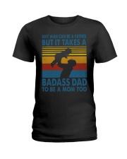 BADASS DAD - MB258 Ladies T-Shirt thumbnail