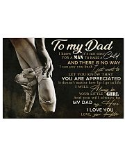 TO MY DAD - MB290 36x24 Poster front