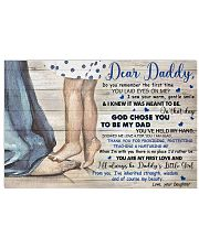 TO MY DAD - MB279 24x16 Poster front