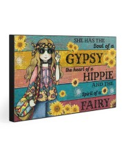 She has the soul of a gypsy 30x20 Gallery Wrapped Canvas Prints front