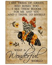 What a wonderful world Vertical Poster tile
