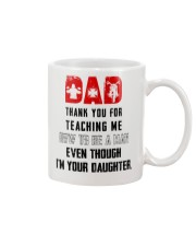 THANK YOU FOR TEACHING ME HOW TO BE A MAN  Mug front