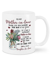 TO MY MOTHER-IN-LAW Mug front