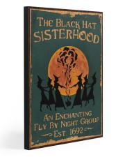 THE BLACK HAT SISTERHOOD 20x30 Gallery Wrapped Canvas Prints front