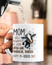 YOUR FINANCIAL BURDEN Mug ceramic-mug-lifestyle-65
