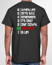ONLY ONE DOWN THE REST UP - MB352 Classic T-Shirt garment-tshirt-unisex-back-04