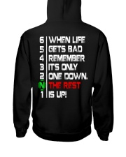 ONLY ONE DOWN THE REST UP - MB352 Hooded Sweatshirt thumbnail