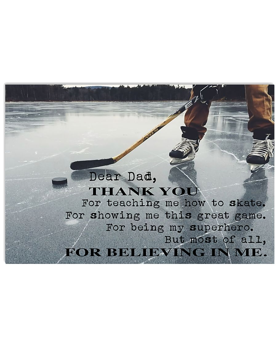 THANKS DAD FOR TEACHING ME HOW TO SKATE - MB267 24x16 Poster