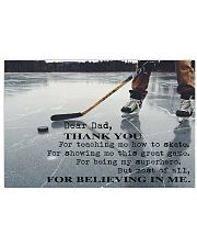 THANKS DAD FOR TEACHING ME HOW TO SKATE - MB267 24x16 Poster front