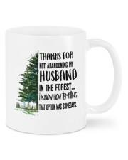 THANKS FOR NOT ABANDONING MY HUSBAND Mug front