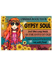 ROCK YOUR GYPSY SOUL Horizontal Poster tile