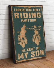 I ASKED GOD FOR A RIDING PARTNER 20x30 Gallery Wrapped Canvas Prints aos-canvas-pgw-20x30-lifestyle-front-14