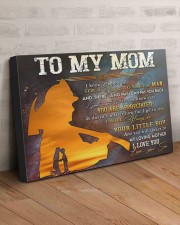 TO MY MOM - FIREFIGHTER 30x20 Gallery Wrapped Canvas Prints aos-canvas-pgw-30x20-lifestyle-front-07