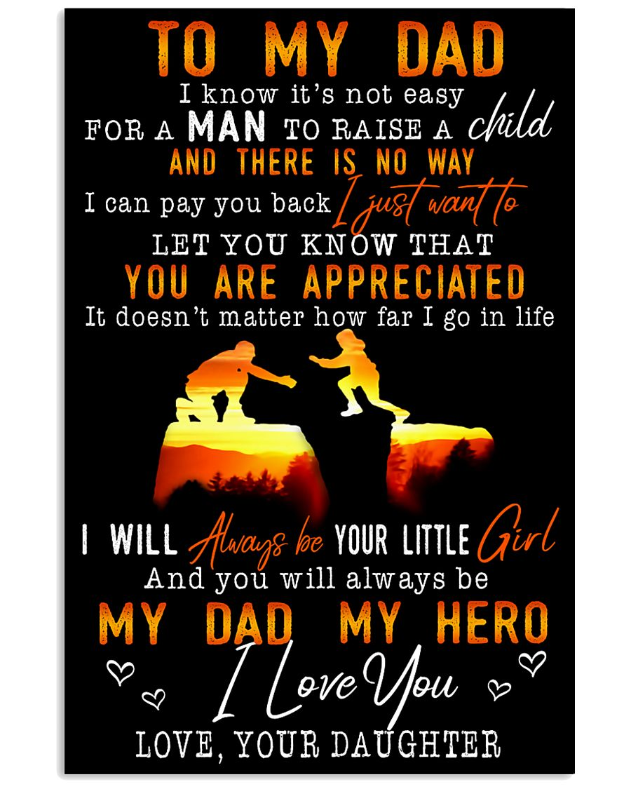TO MY DAD - MB156 11x17 Poster