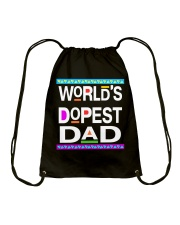 WORLD'S DOPEST DAD - MB232 Drawstring Bag thumbnail