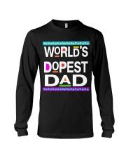 WORLD'S DOPEST DAD - MB232 Long Sleeve Tee thumbnail