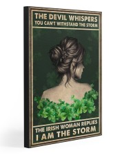 I AM THE STORM  Gallery Wrapped Canvas Prints tile
