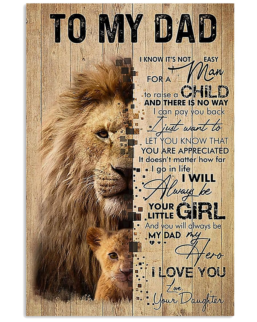 TO MY DAD - MB174 11x17 Poster