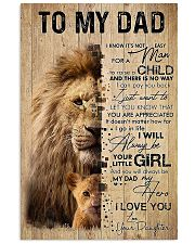 TO MY DAD - MB174 11x17 Poster front