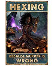 BCS MURDER IS WRONG  11x17 Poster thumbnail
