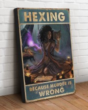 BCS MURDER IS WRONG  20x30 Gallery Wrapped Canvas Prints aos-canvas-pgw-20x30-lifestyle-front-14