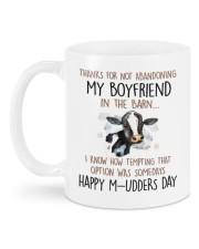 ABANDONING MY BOYFRIEND IN THE BARN Mug back