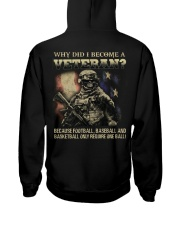 WHY DID I BECOME A VETERAN  Hooded Sweatshirt thumbnail