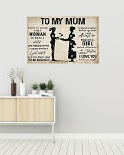 TO MY MUM  36x24 Poster poster-landscape-36x24-lifestyle-01