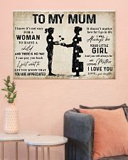 TO MY MUM  36x24 Poster poster-landscape-36x24-lifestyle-18