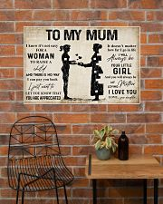TO MY MUM  36x24 Poster poster-landscape-36x24-lifestyle-20