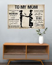 TO MY MUM  36x24 Poster poster-landscape-36x24-lifestyle-21