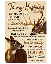 TO MY HUSBAND  Vertical Poster tile