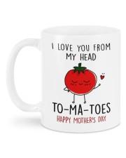 FROM MY HEAD TOMATOES Mug back