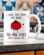 FROM MY HEAD TOMATOES Mug ceramic-mug-lifestyle-57