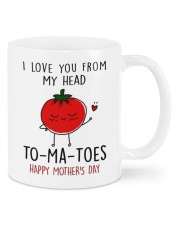 FROM MY HEAD TOMATOES Mug front