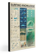 SURFING KNOWLEDGE 20x30 Gallery Wrapped Canvas Prints front