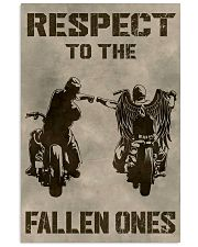 RESPECT TO THE FALLEN ONES 11x17 Poster thumbnail
