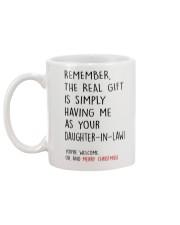 THE REAL GIFT Mug back