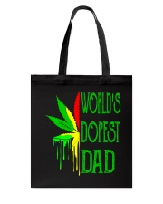 WORLD'S DOPEST DAD - MB145 Tote Bag thumbnail