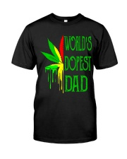 WORLD'S DOPEST DAD - MB145 Classic T-Shirt front
