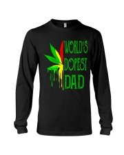 WORLD'S DOPEST DAD - MB145 Long Sleeve Tee thumbnail