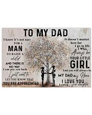 IT'S NOT EASY FOR A MAN TO RAISE A CHILD  24x16 Poster front