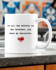 OF ALL THE WEIRDOS ON THE INTERNET Mug ceramic-mug-lifestyle-57